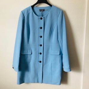 Karl Lagerfeld Sky Blue Coat
